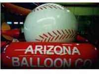 Baseball helium balloons for sale - balloon rentals nationwide