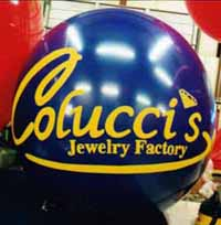 custom helium balloons for sale - cold-air balloon rentals